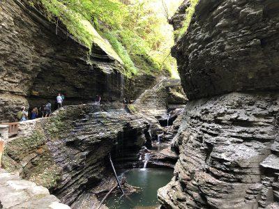 Watkins Glen Rock NY Waterfalls