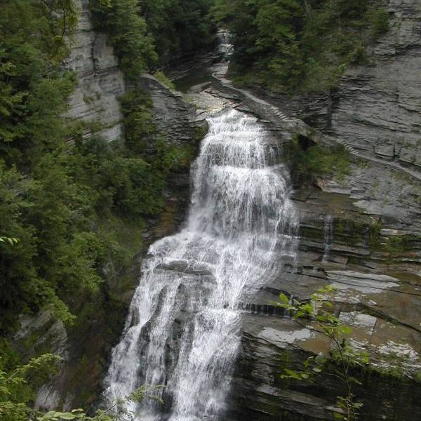 Lucifer Falls in Robert H Treman State Park NY
