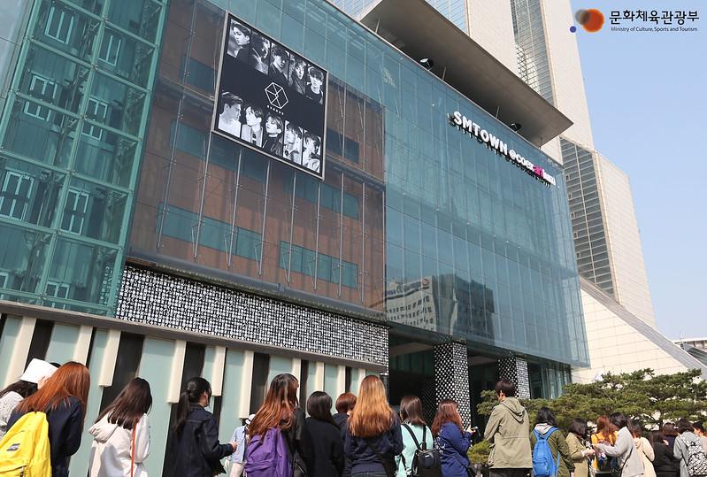 SM entertainment company in South Korea